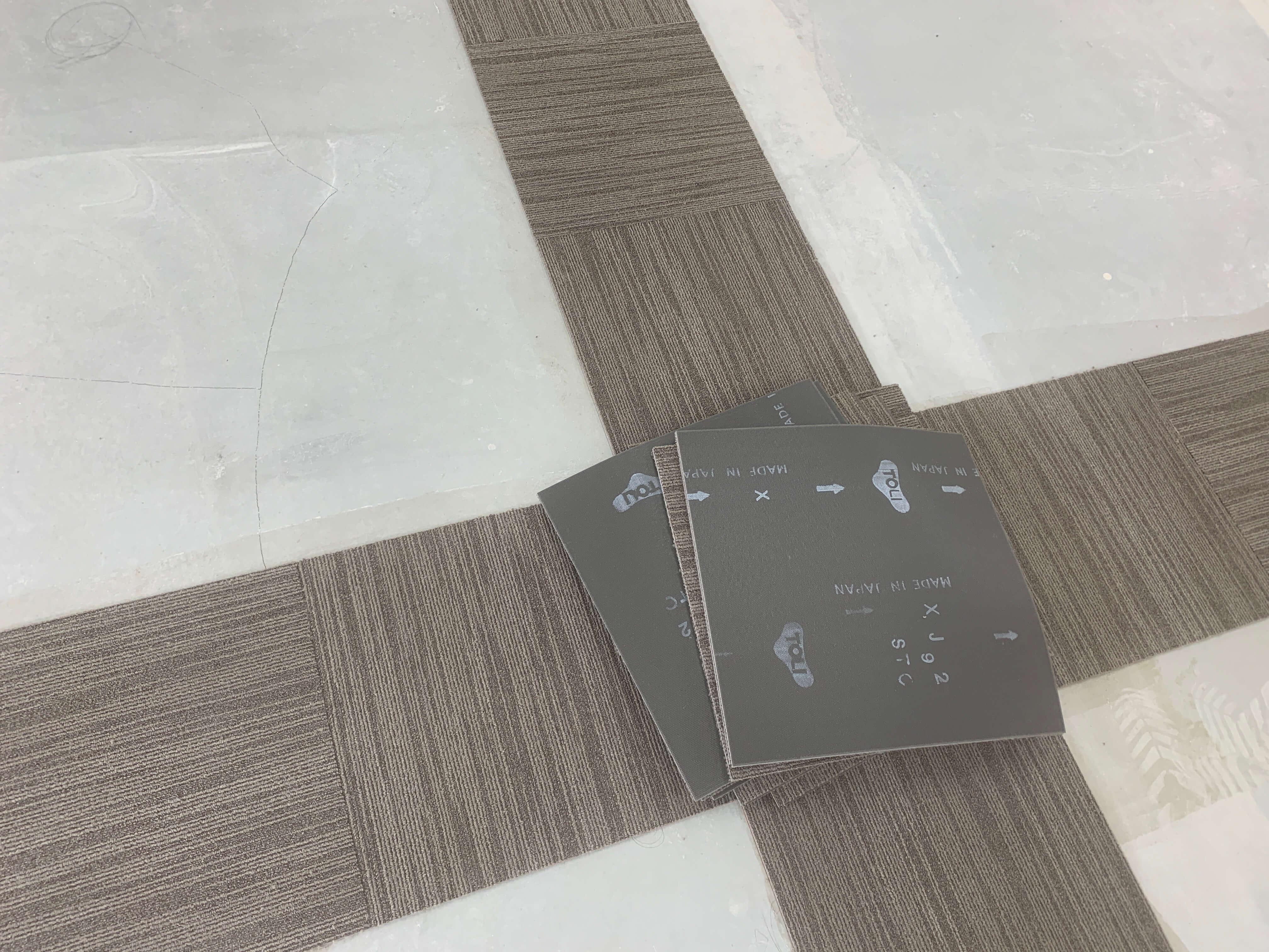 ひとりで初めての床貼り